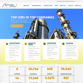 Recruitment - HR - Integrated project management - Q-Sourcing Servtec