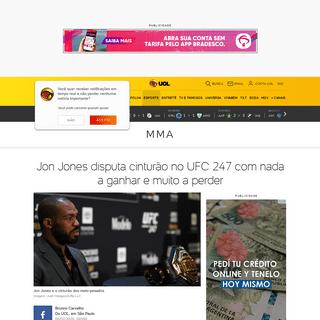 UFC 247- Jon Jones disputa cinturão com nada a ganhar e muito a perder