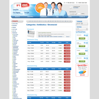 Buy Stromectol 3 Mg Pills - Stromectol Medication