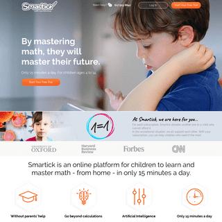 Smartick - Online Elementary Math For Children