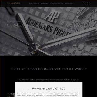 Audemars Piguet - Swiss Luxury Watches
