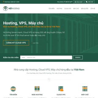VIỆT HOSTING - Nhà cung cấp Hosting, Cloud VPS, Máy chủ, Tên miền