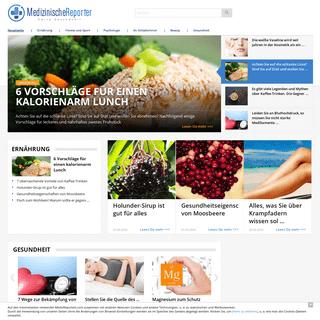 MedicReporters - medizinisches Informationsportal über die Gesundheit