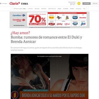 Bomba- rumores de romance entre El Duki y Brenda Asnicar - Clarín