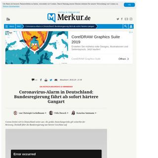 ArchiveBay.com - www.merkur.de/welt/coronavirus-covid-19-spahn-gesundheitsminister-spahn-karl-lauterbach-virologe-epidemie-pandemie-deutschland-zr-13561514.html - Coronavirus-Alarm in Deutschland- Bundesregierung fährt ab sofort härtere Gangart - Welt