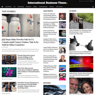 ArchiveBay.com - ibtimes.sg - International News, Analysis, Politics, Business, Technology, Entertainment - IB Times SG Edition