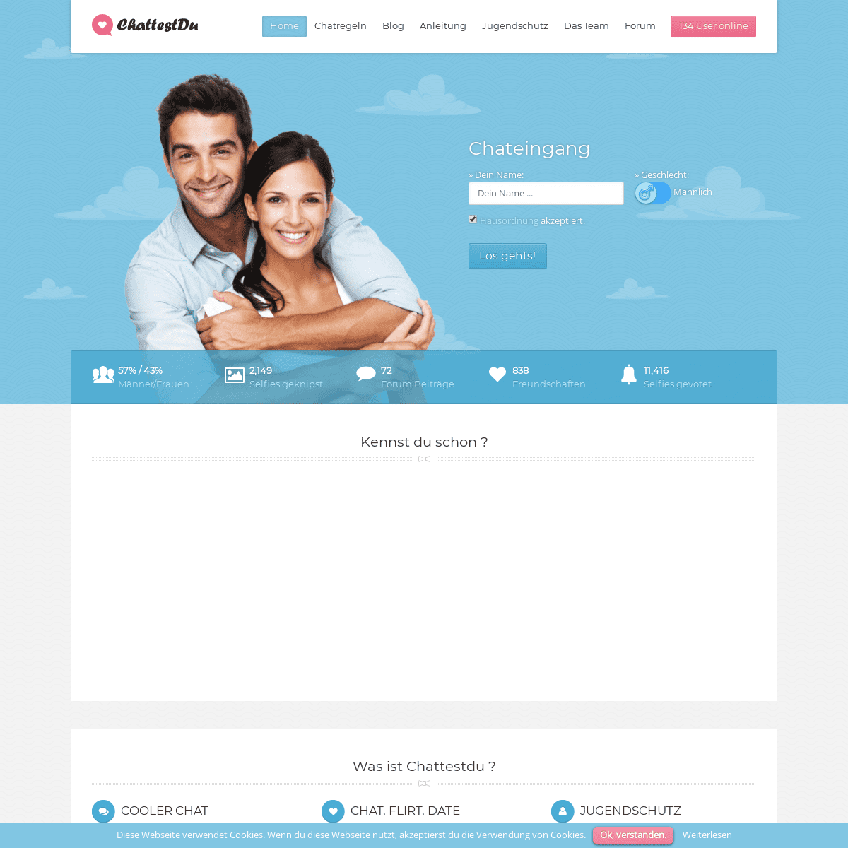 ArchiveBay.com - chattestdu.de - Chattestdu schon- • 100- kostenloser Chat ohne Registrierung und Anmeldung