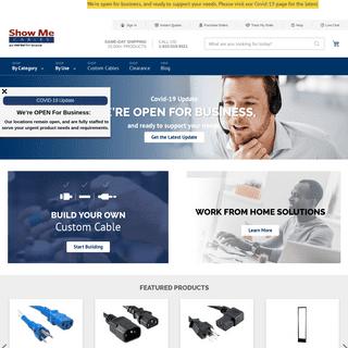 Cables, Connectors & Patch Cables since 1995 – ShowMeCables - ShowMeCables.com