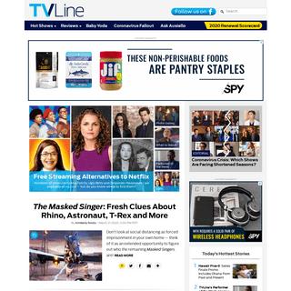 TVLine - TV News, Previews, Spoilers, Casting Scoop, Interviews