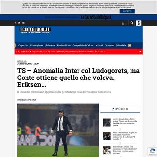 ArchiveBay.com - www.fcinter1908.it/ultimora/conte-anomalia-ludogorets/ - TS - Anomalia Inter col Ludogorets, ma Conte ottiene quello che voleva