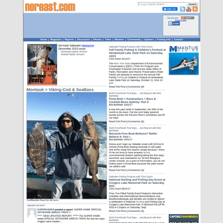 Saltwater & Offshore Fishing Magazine for Salt Water Fishing and Fisherman Interests - Noreast Saltwater Magazine