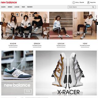 Newbalance.com.tr - New Balance ayakkabı, spor giyim ve aksesuar ürünleri