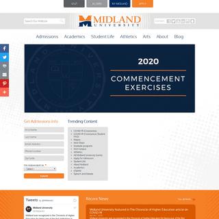 Midland University - Fremont, Ne -