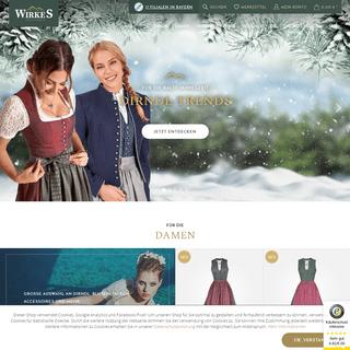 Trachten & Dirndl Online Shop - Wirkes