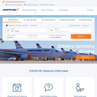 Největší česká letecká společnost - Smartwings.com