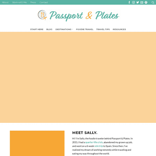 Passport & Plates - Travel and dine sans spirits and swine - Passport & Plates
