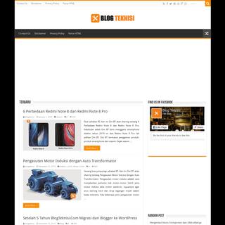 Berbagi Info, Tips dan Tutorial Teknis - Blog Teknisi