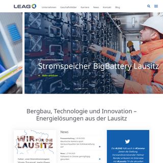Energie aus dem Braunkohlenbergbau Lausitz - LEAG.de