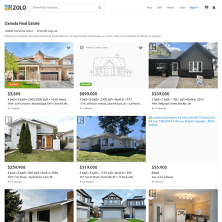 Canada MLS® Listings & Real Estate for Sale - Zolo.ca