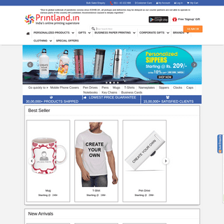 ArchiveBay.com - printland.in - Online Printing Superstore for Personalized, Business & Corporate gifts