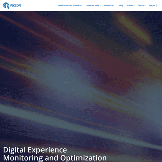 Rigor - The Leader in Digital Performance Management