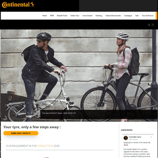Home - Continental Bicycle Tyres UK