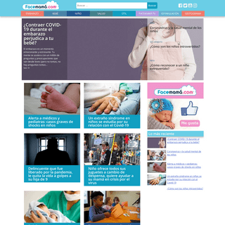 ArchiveBay.com - facemama.com - Facemama.com - Embarazo, Maternidad, hijo, hija, recién nacido, bebés, toodler, etapa preescolar, estimulación, crianza, vida