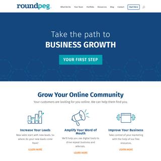 Web Design - Indianapolis - Content Marketing Strategy - Roundpeg