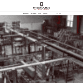 Brewery Hiring Services - Brewsource