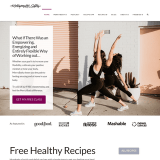 Merrymaker Sisters - MerryBody Yoga and Pilates - Easy Healthy Recipes