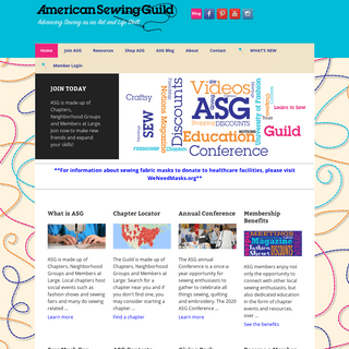American Sewing Guild (ASG)