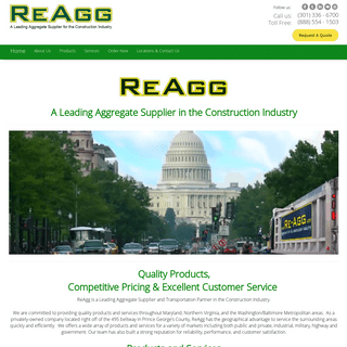 Aggregates Supplier & Delivery - Concrete Recycling - ReAgg