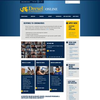 Accredited Online Bachelors Degrees & Graduate Programs - Drexel Online