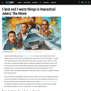 ArchiveBay.com - www.looper.com/189880/best-worst-things-impractical-jokers-movie/ - Best and worst things in Impractical Jokers- The Movie