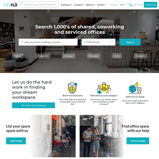 Search 1000s of Shared, Serviced & Coworking Offices - Office Hub