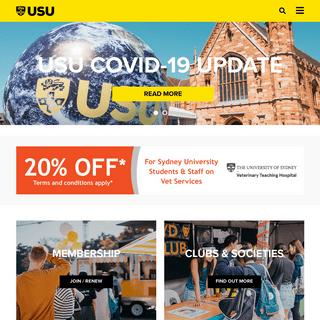 University of Sydney Union - Home