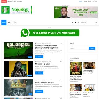 NaijaBlast - Naija Number One Music, Video and Entertainment Website