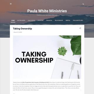 Paula White Ministries