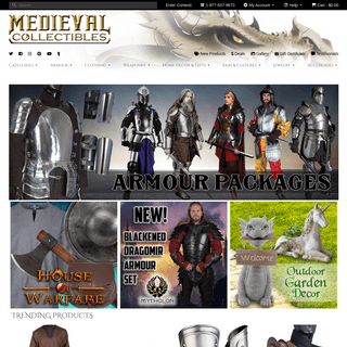 Medieval Collectibles - Medieval Swords, Renaissance Clothing & more!