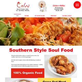 Chicken-n-Waffles - VOTED BEST IN SACRAMENTO