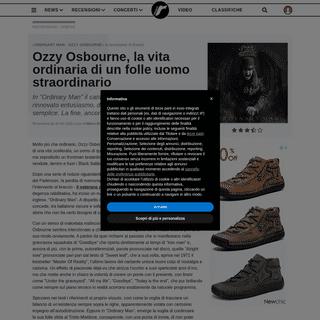 ArchiveBay.com - www.rockol.it/recensioni-musicali/album/9083/ozzy-osbourne-ordinary-man - √ Recensioni - Dischi - Ozzy Osbourne - ORDINARY MAN su Rockol