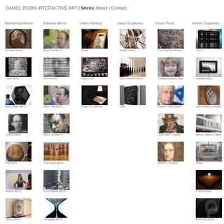 Daniel Rozin Interactive Art