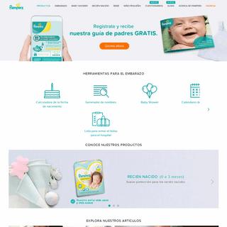 Pampers AR- Desarrollo del bebé, embarazo semana a semana y más