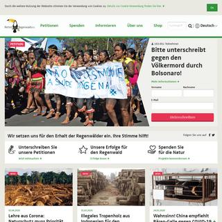 ArchiveBay.com - regenwald.org - Rettet den Regenwald e.V. - Ihre Stimme hilft