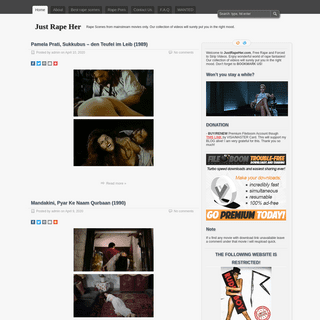 Just Rape Her - Rape Scenes from mainstream movies.