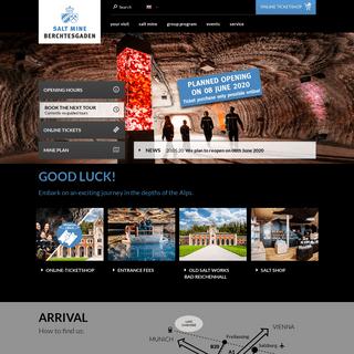 The Salt Mine Berchtesgaden - Official Website