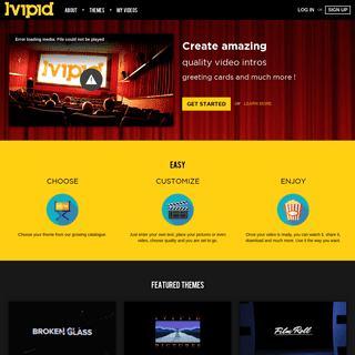 Ivipid Video Maker