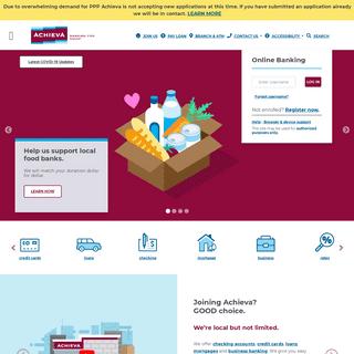 Achieva Credit Union - Online Banking - Banking - Pinellas - Hillsborough - Pasco - Manatee