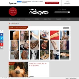 Tatuagem.com (tatuagens, tattoo) - fotos de tatuagens, tatuadores e tudo o resto!