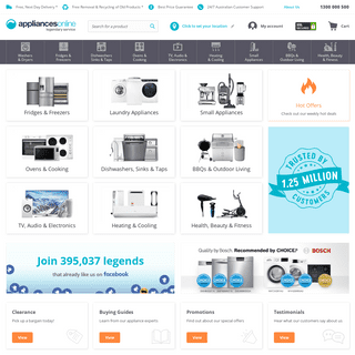 Appliances Online - Buy Online with Free Delivery